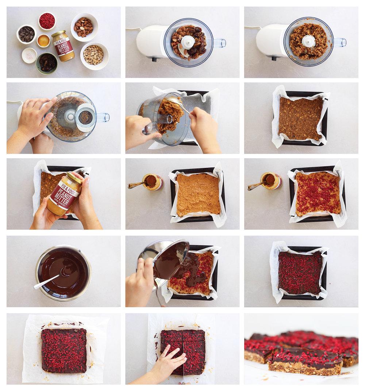 Fix and Fogg No Bake Peanut Butter Bars_3