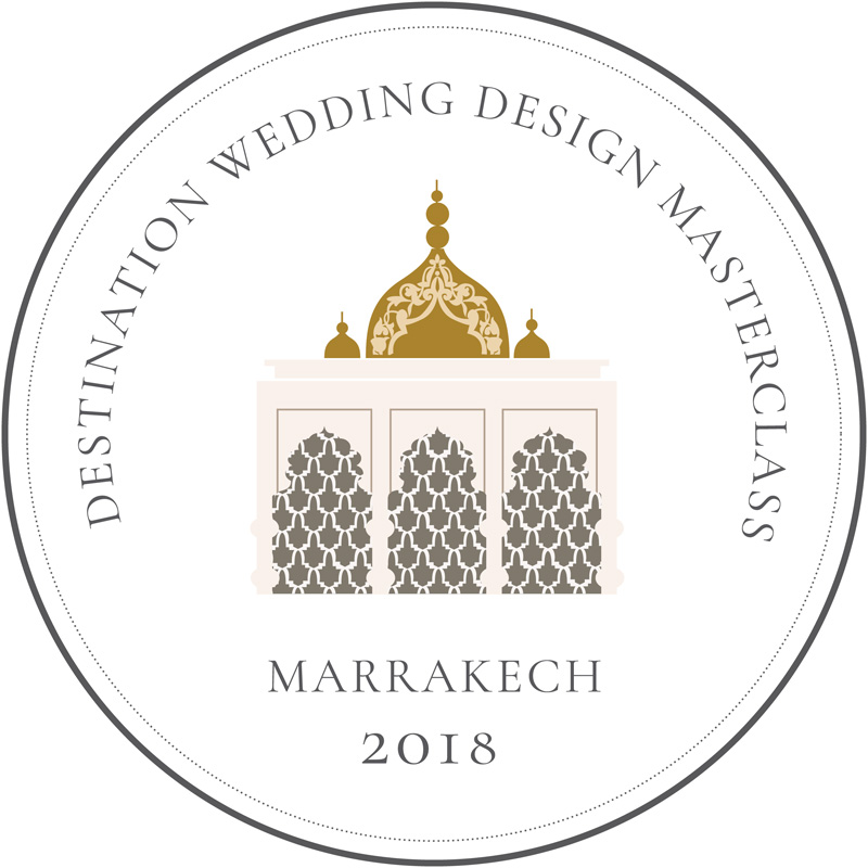 Destination Wedding Design Masterclass - Marrakech 2018