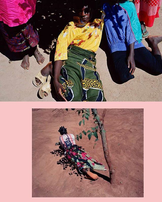 "Some Viviane Sassen to get you through your day. From ""Flamboya"" (2008). 📷🍊 #womenartists"