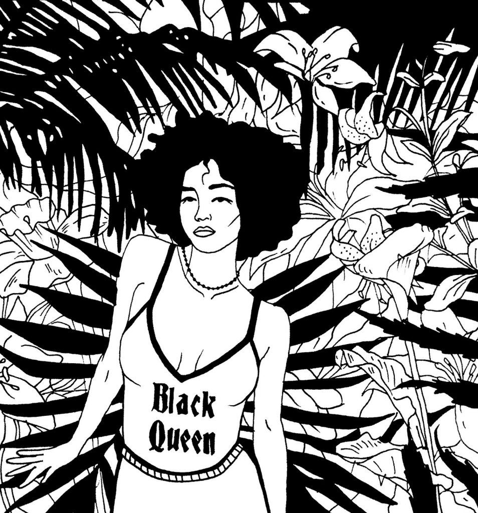 """Black Queen"" - GIRLS IN NATURE"