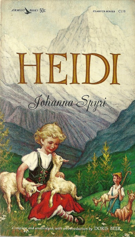 The story of Heidi the orphan popularised the name around the world.