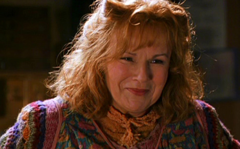 Julie Walters as Molly Weasley in the Harry Potter films. One of the most famous Mollys of our time.