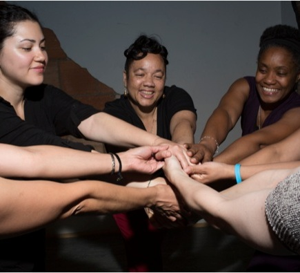Move to Move Beyond with Gibney - An innovative and effective program from dance performance and social justice powerhouse Gibney that uses the transformative power of movement to make a difference in the lives of intimate partner and gender-based violence survivors.Learn more