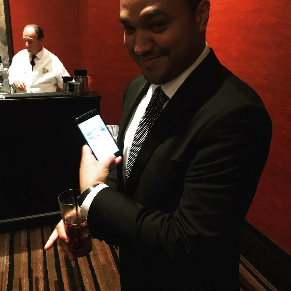 Adonis the Executive Director Downloading the App