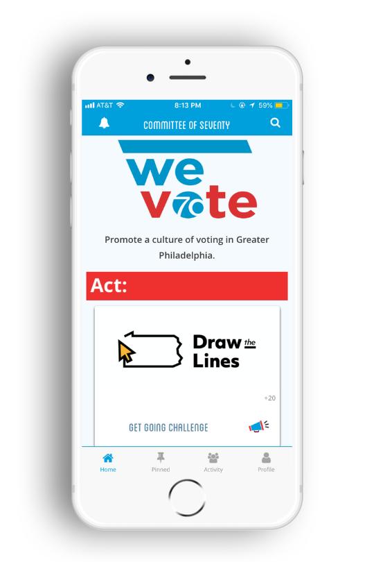 MilkCrate_App_We Vote