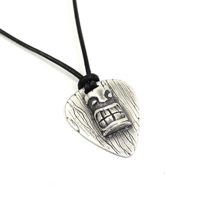 Feel like Bobby Brady with this tiki god around your neck! Available in Sterling silver or bronze! #gothjewelry #tiki #jewelry #bradybunch #sterlingsilver #oneofakind #madeindetroit