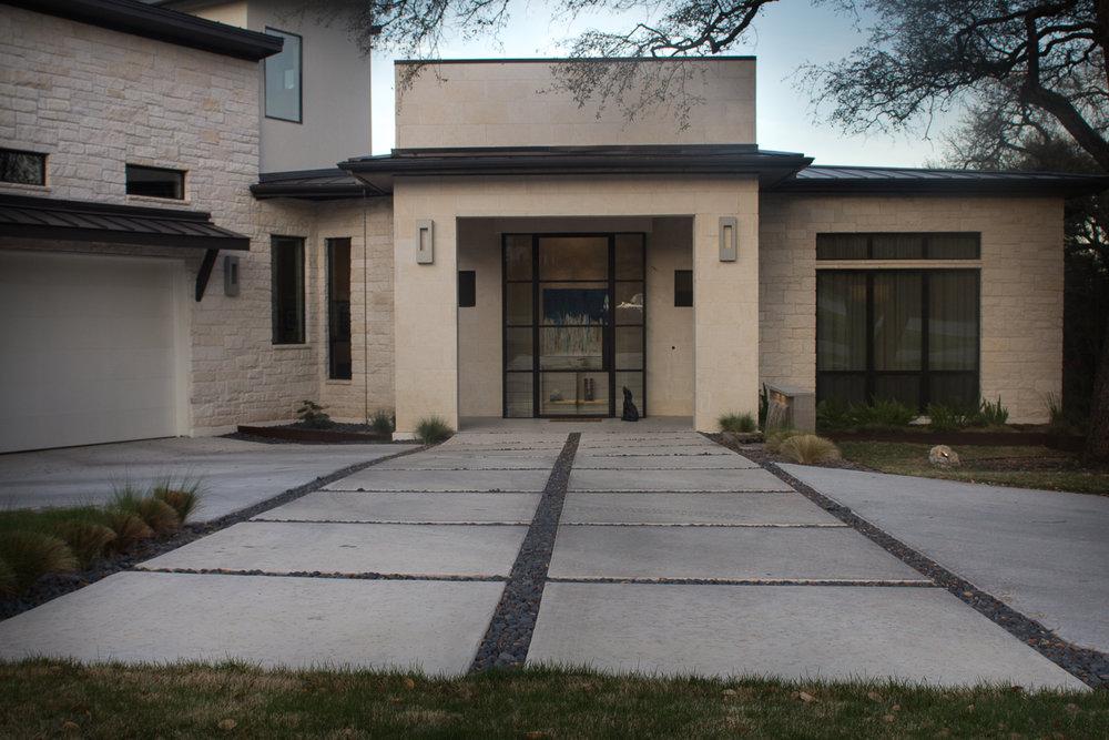 Austin Modern Home - Terrazzo Rustica
