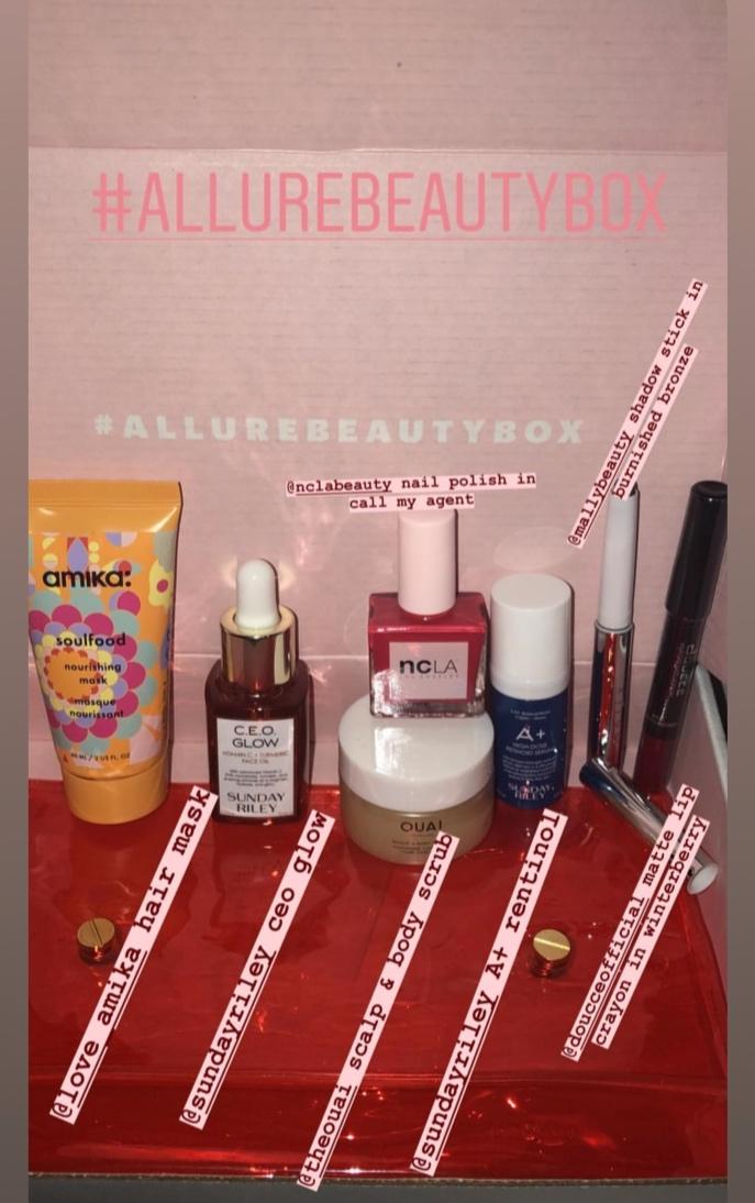Photo- January 2019 Allure Beauty Box