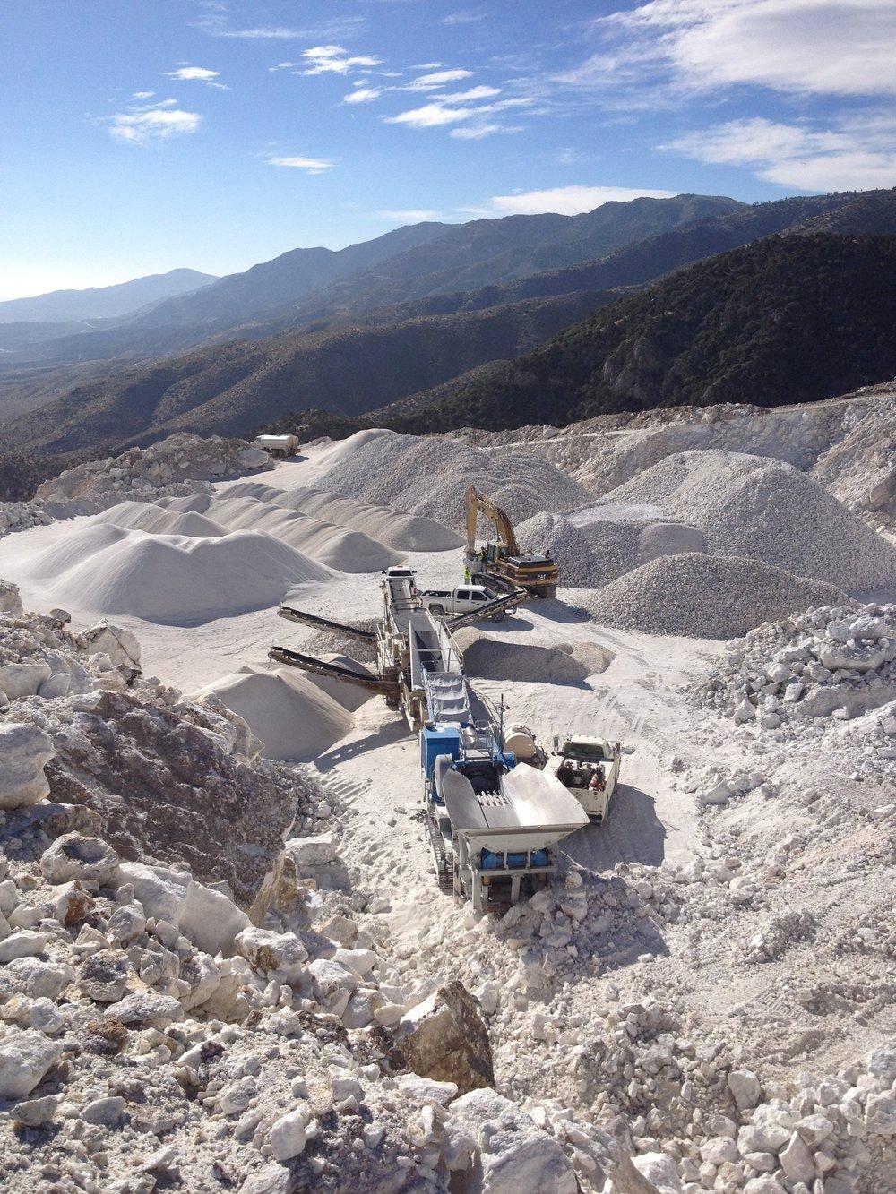Omya Mine