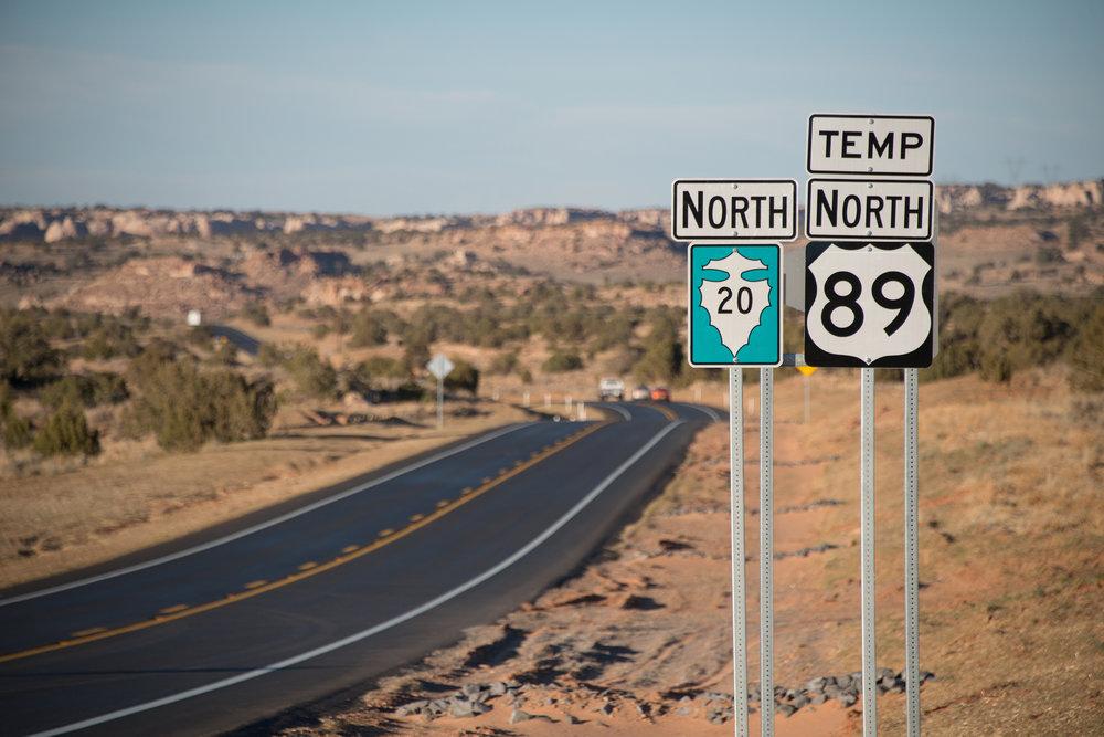 US 89T Detour CMAR