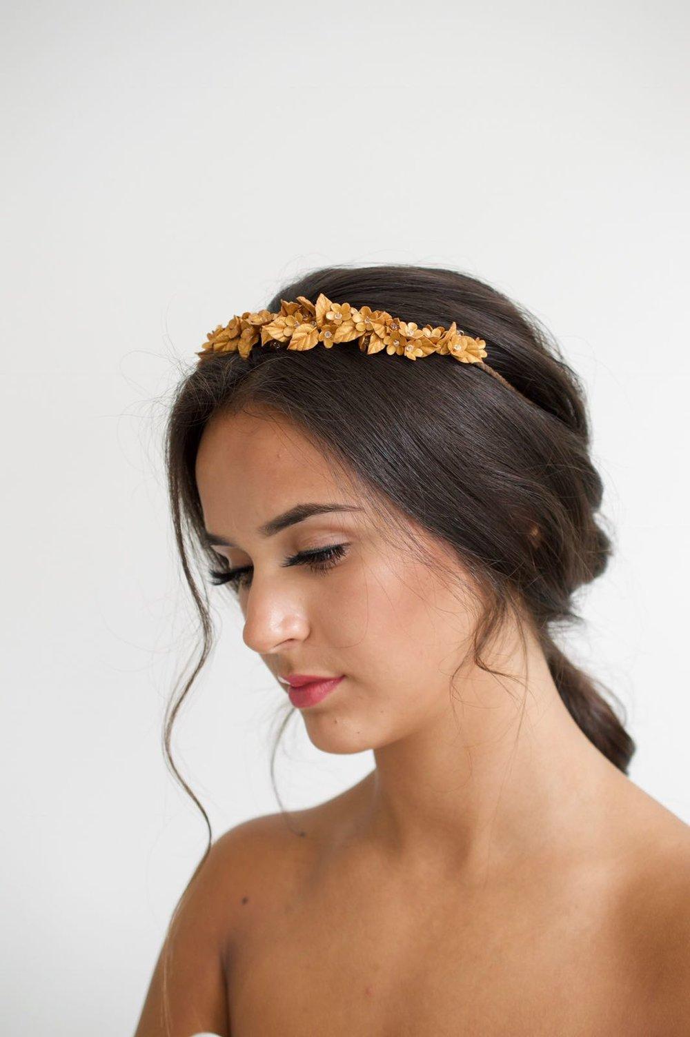 pretty weding hair boho style for brides