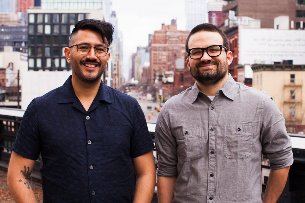 Carlos Rojas Felice (left) and William Starling (right).