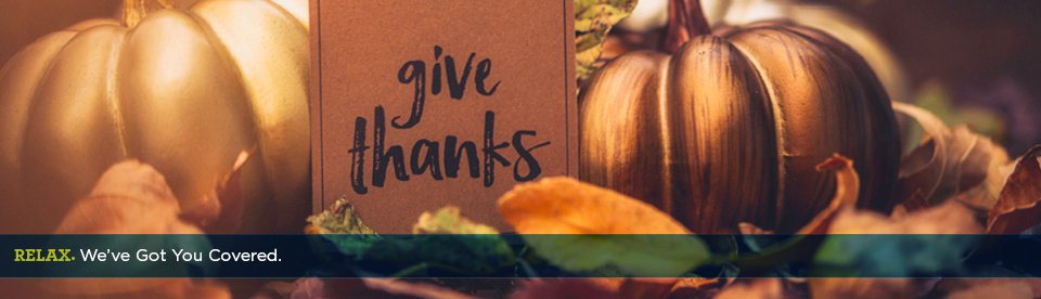 Giving Thanks and More