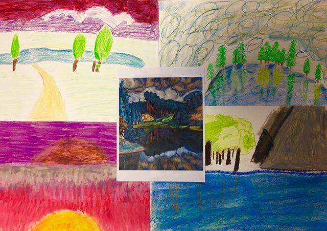 Estonian artist Konrad Magi inspired landscapes