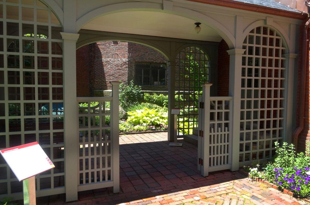 Visit the Children's Gate at Longfellow Garden Club