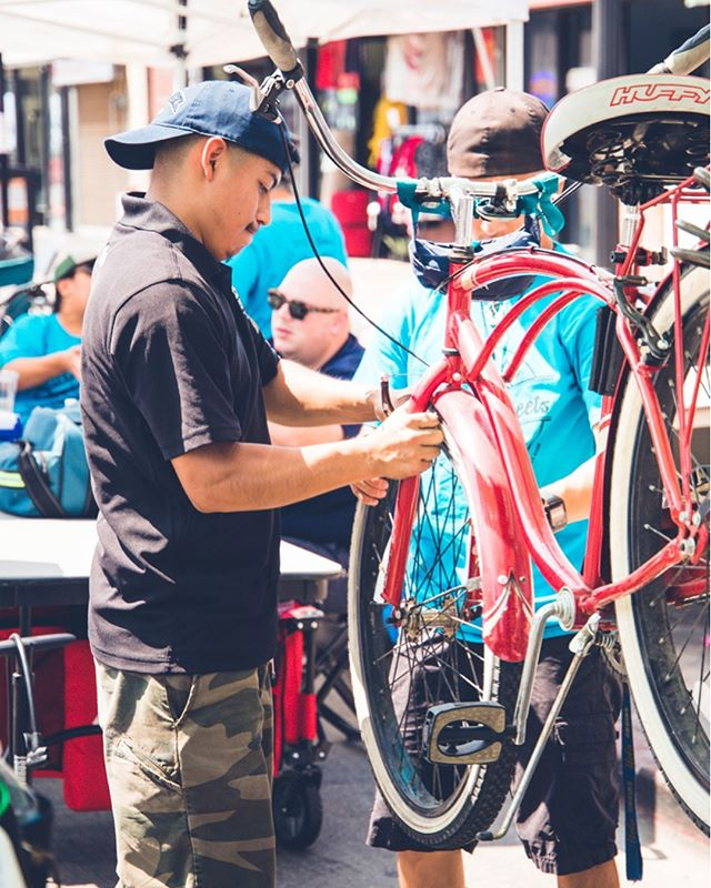 We love @reyesbikeshop. They helped our staff with some bike issues at the event and were nothing short of amazing partners! Thank you!
