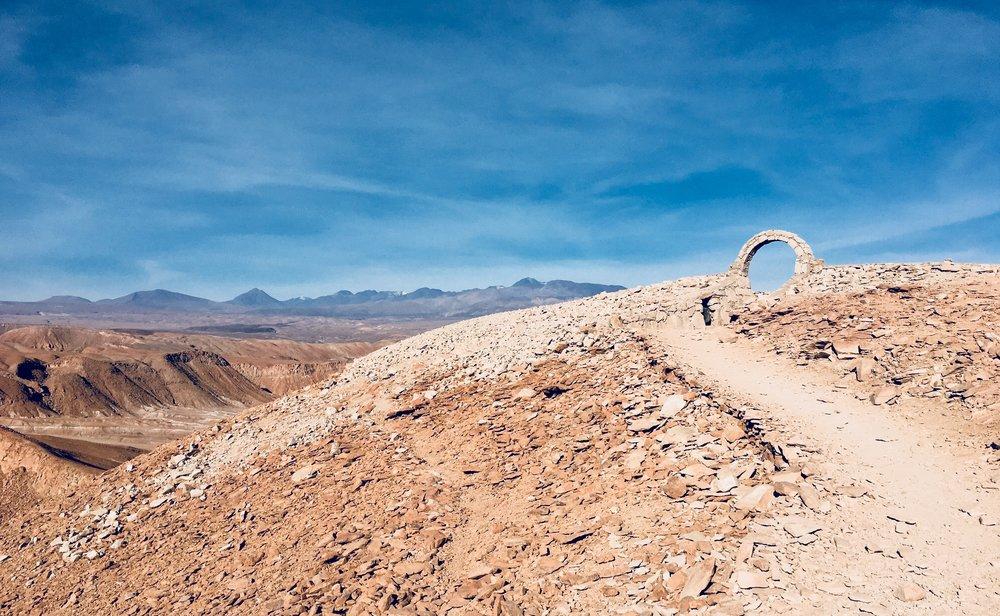 Pukará de Quitor, San Pedro de Atacama, Chile.