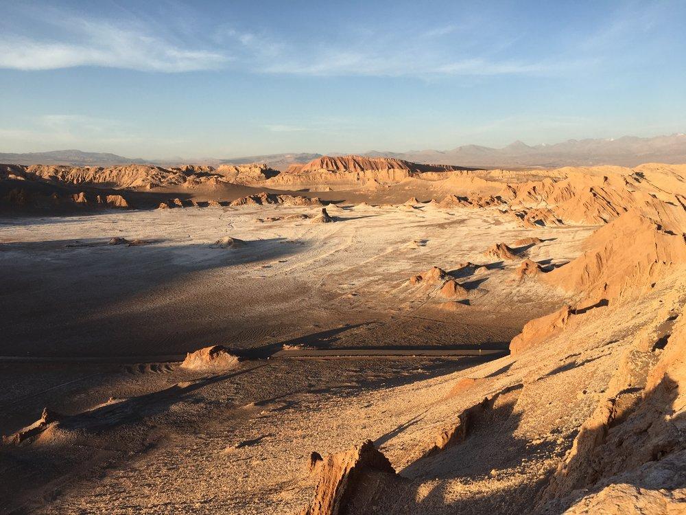 Vale de la Luna, San Pedro de Atacama.