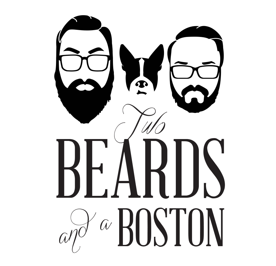 "Two Beards & a Boston  The following is placeholder text known as ""lorem ipsum,"" which is scrambled Latin used by designers to mimic real copy. Nullam sit amet nisi condimentum erat iaculis auctor. Vestibulum ante ipsum primis in faucibus orci luctus et ultrices posuere cubilia Curae.   VEIW THEIR PRODUCTS!"