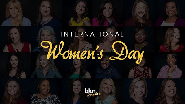 Celebrating #InternationalWomensDay with all of the #STRONG, #COURAGEOUS, #INSPIRATIONAL, #DETERMINED, & #POWERFUL women that are a part of our BKN Creative Community! Thank you for being you! ❤️ . . . #bkncreative #bkncreativetampa #bkncreativeybor #creativeagency #marketingagency #creative #marketing #creativemarketing #tampa #tampaflorida #florida #tampacreativeagency #typography #yborcity #designcenter #creative #ybor #internationalwomensday2019