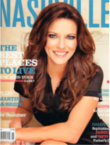 Nashville Lifestyles Magazine - When Martina McBride was asked about her favorite shopping venues, she replied,