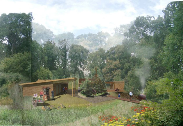 The Eco-Zoo's British Woodland Exhibit