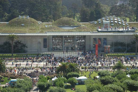 California Academy of Sciences from The Guardian