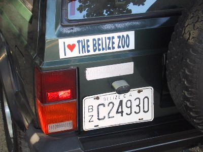 Zoo Bumper Sticker