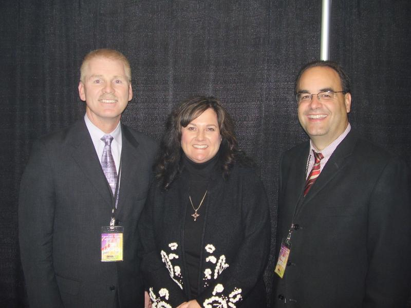 Tim and Dave with Ali Matthews.JPG