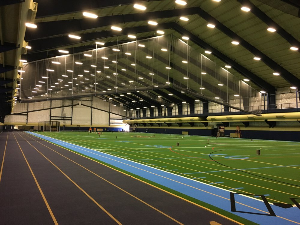 - Project Name: University of Pittsburgh Cost Center, Pittsburgh, PAPrime Contractor: Allegheny Construction GroupArchitect: CDM SmithProject Description: Delivered and installed Draper gymnasium wall pads and Putterman Athletics slope fold gymnasium divider curtains.