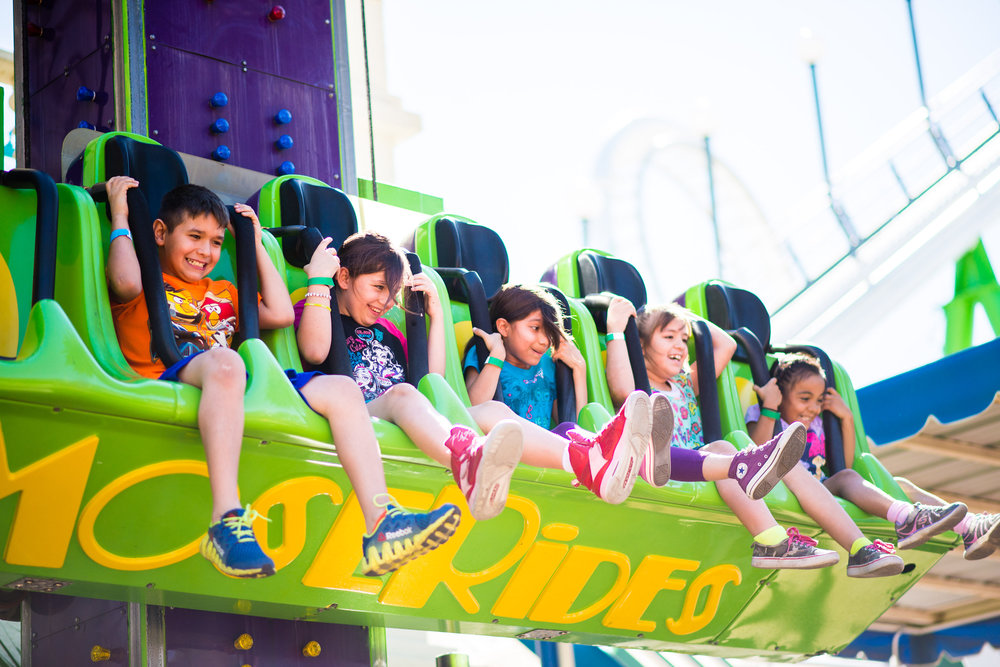 Photo of Kids having fun on Free Fall