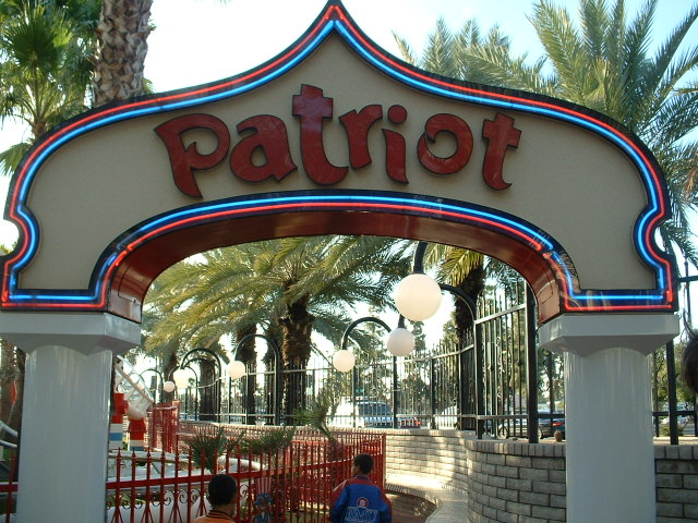 Image of the front of Patriot ride.
