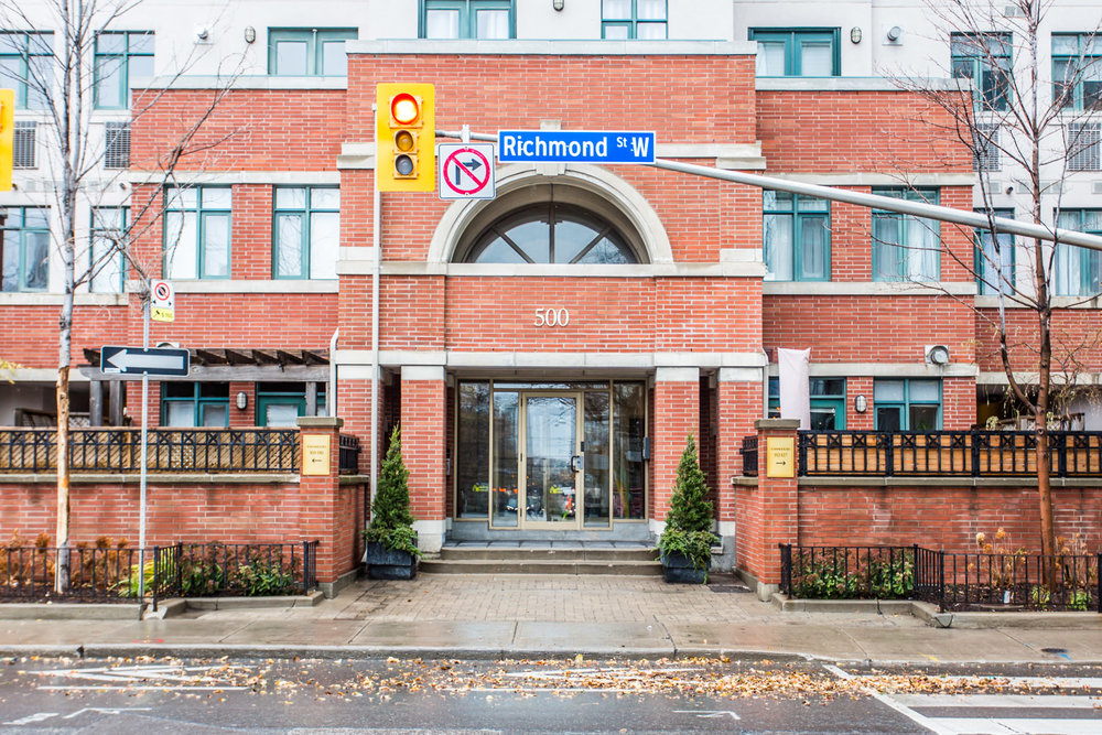 500 Richmond St W #120 - Represented Seller