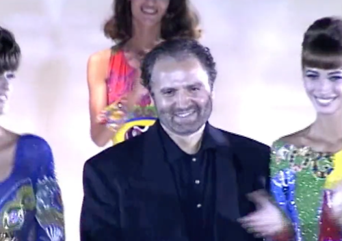 GIANNI VERSACE: Exclusive footage from the archive.  See More  ›
