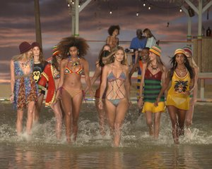SWIMWEAR  Always popular, from swimwear collections to bathing suit contests.  Discover more.