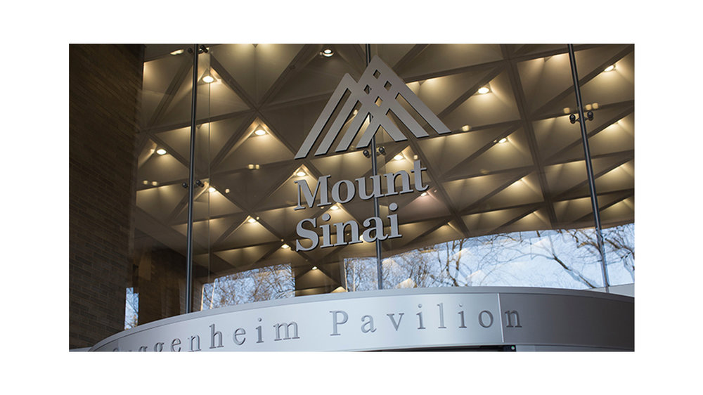 Guggenheim Pavilion's extrance for Mount Sinai Hospital on the Upper East Side of Manhattan. MEP for the Urology Office designed by 2LS Consulting Engineering.