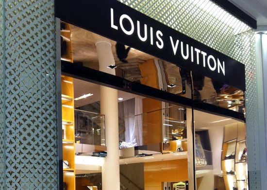 Louis Vuitton at MAcy's -