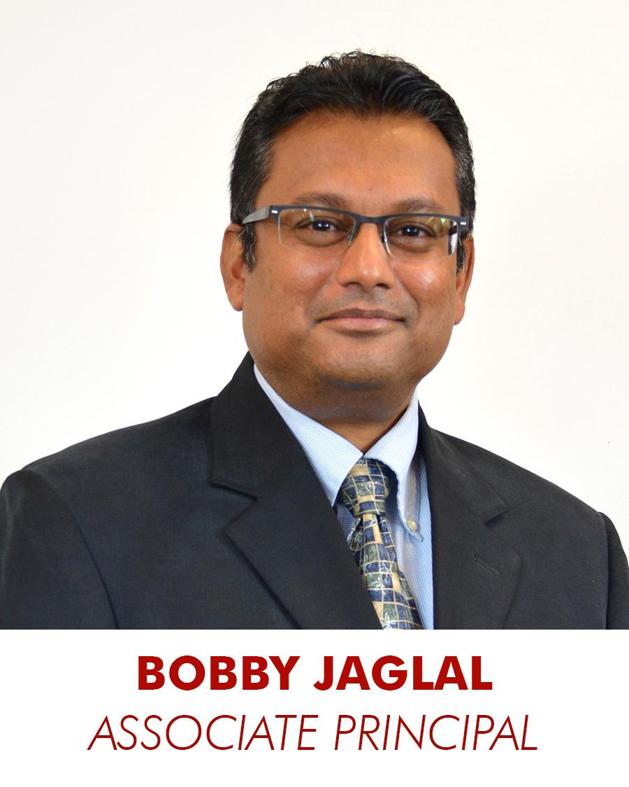 bobby jaglal - associate principal