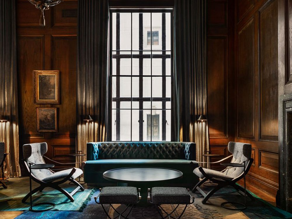 This New York City Residence Has Its Own Speakeasy - June 2nd, 2018 | Robb ReportReal estate is part pragmatism and part instinct. As developers of major residential projects have begun...Read More