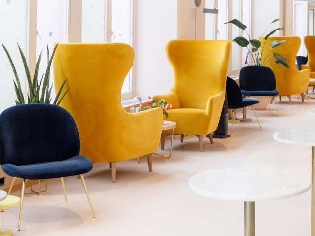 Female co-working club The Wing's third outpost occupies old Brooklyn Paper Factory - February 28, 2018 | dezeenInterior designer Chiara De Rege has aimed to create a cosy atmosphere at the Brooklyn location of the Wing...Read More
