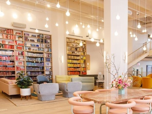 The Wing Dumbo Is Here—See the Women's Club's Gorgeous New Brooklyn Location - February 26, 2018 | Marie ClaireYou have arrived. These are the first words you see when you enter The Wing Dumbo, otherwise known as the bi-level, color-coordinated loft of your dreams. Four months after introducing its SoHo location, ...Read More