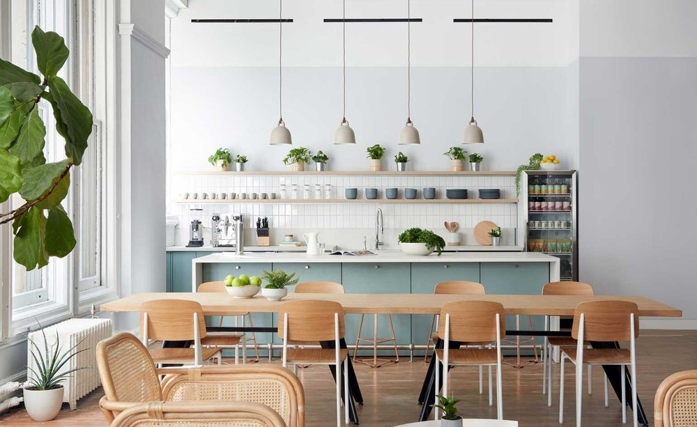 Parsley Health Kitchen Space designed by 2LS Consulting Engineering