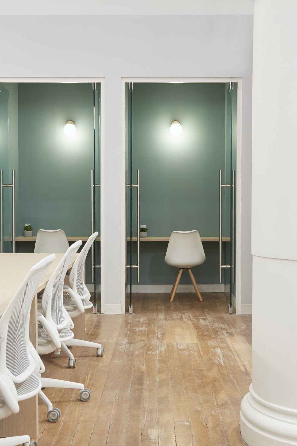 Parsley Health individual offices designed by 2LS Consulting Engineering