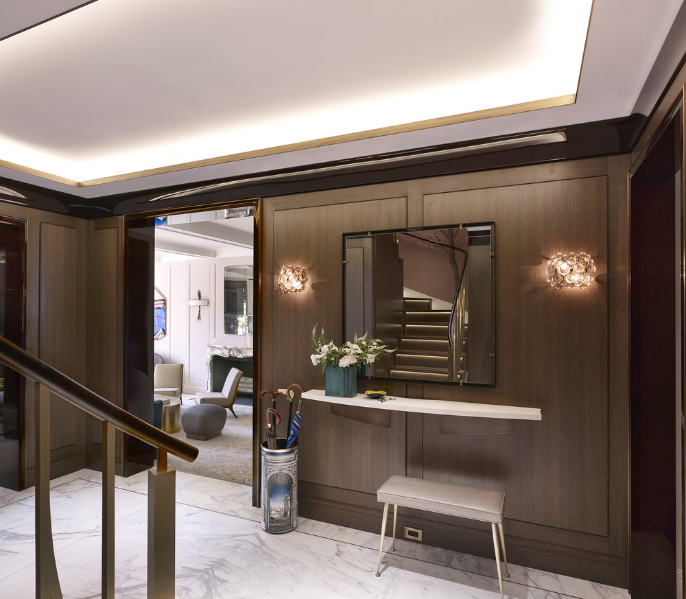 Stonefox 115 East 67th Street Foyer MEP designed by 2LS Consulting Engineering