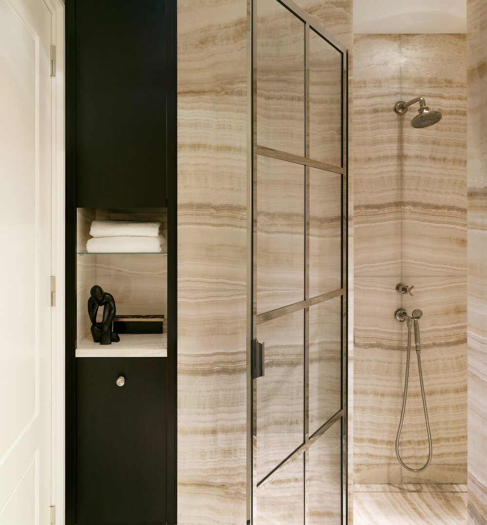 Stonefox 115 East 67th Street Bathroom Shower MEP designed by 2LS Consulting Engineering