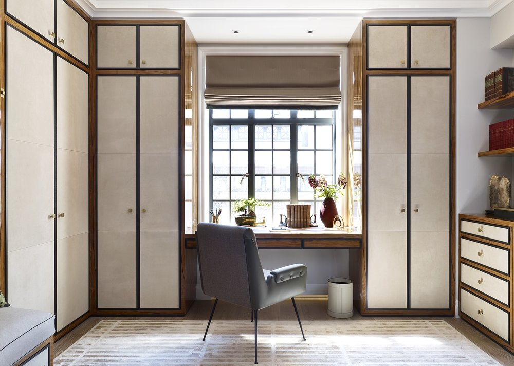 Stonefox 115 East 67th Street His Dressing Room Office MEP designed by 2LS Consulting Engineering