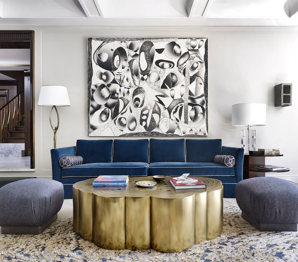 Stonefox 115 East 67th Street Living Room MEP designed by 2LS Consulting Engineering