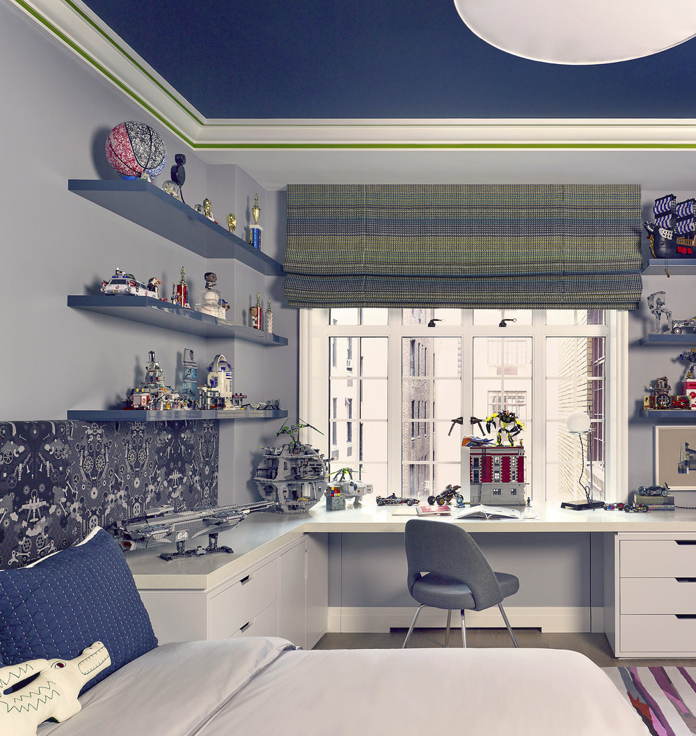 Stonefox 115 East 67th Street Son's Room MEP designed by 2LS Consulting Engineering