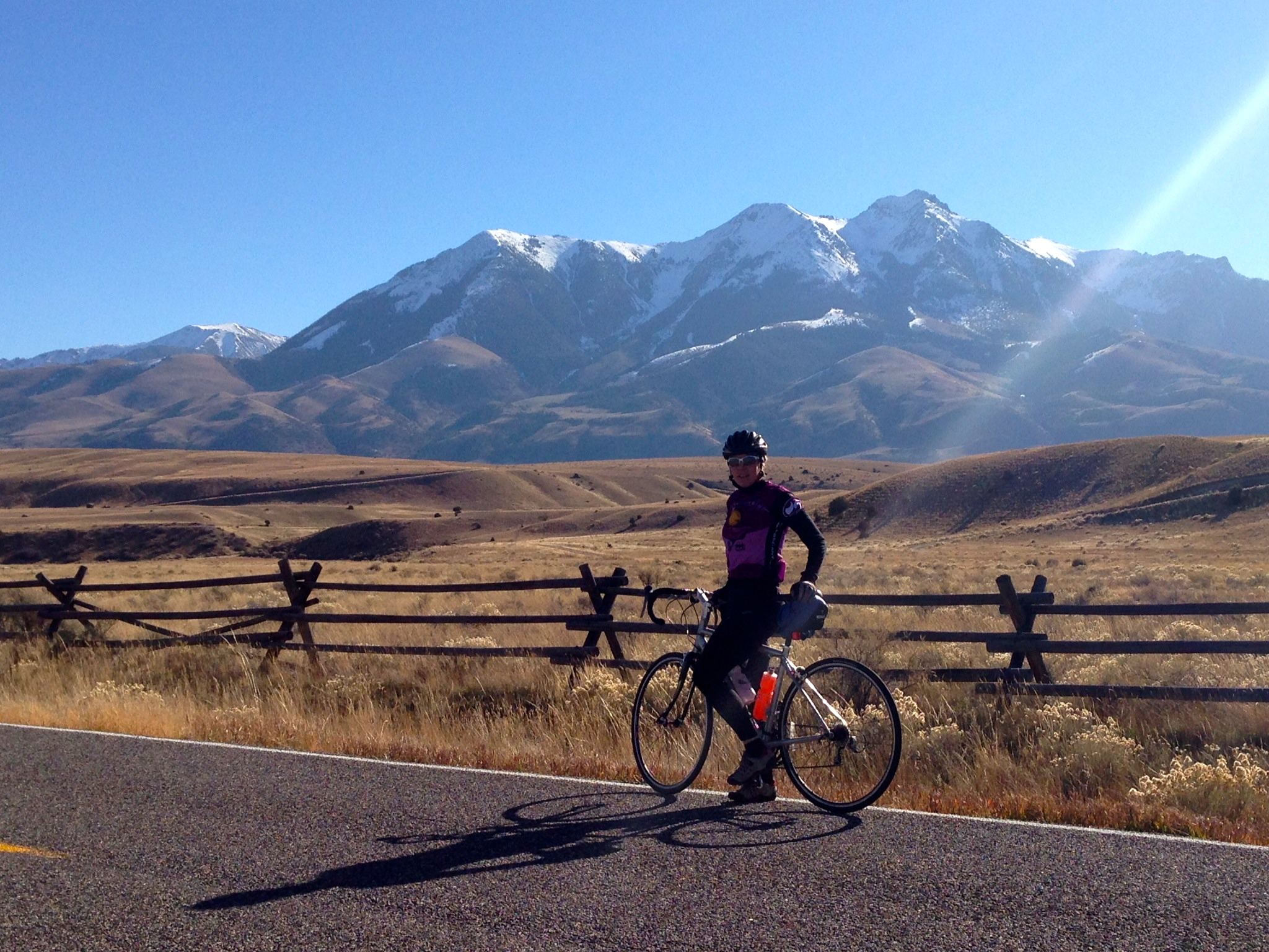 Beautiful Sunday ride along the Yellowstone River through Paradise Valley