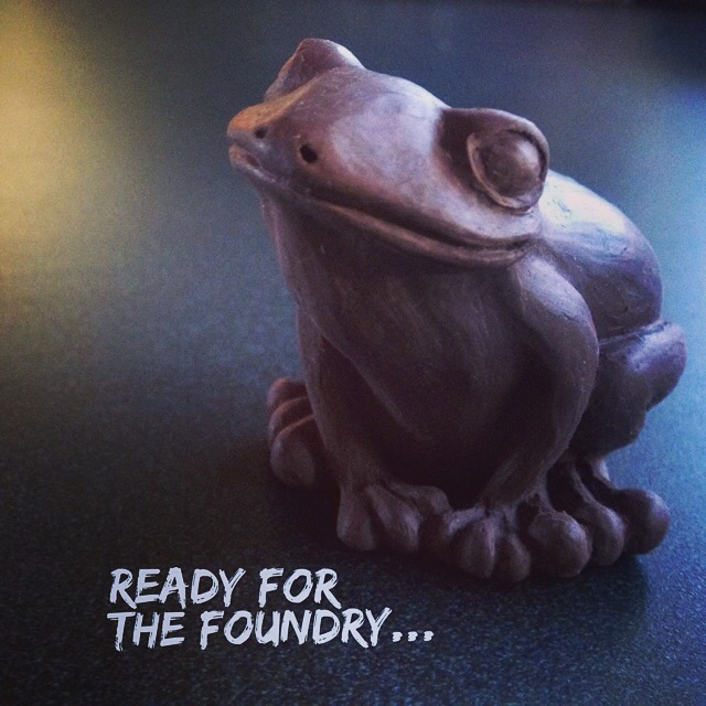 The little bugger is going to the foundry today...!